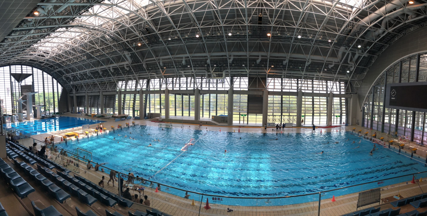 四日市中央工業高校、水球部にて全国優勝に向けてのメンタルトレーニングを行いました。