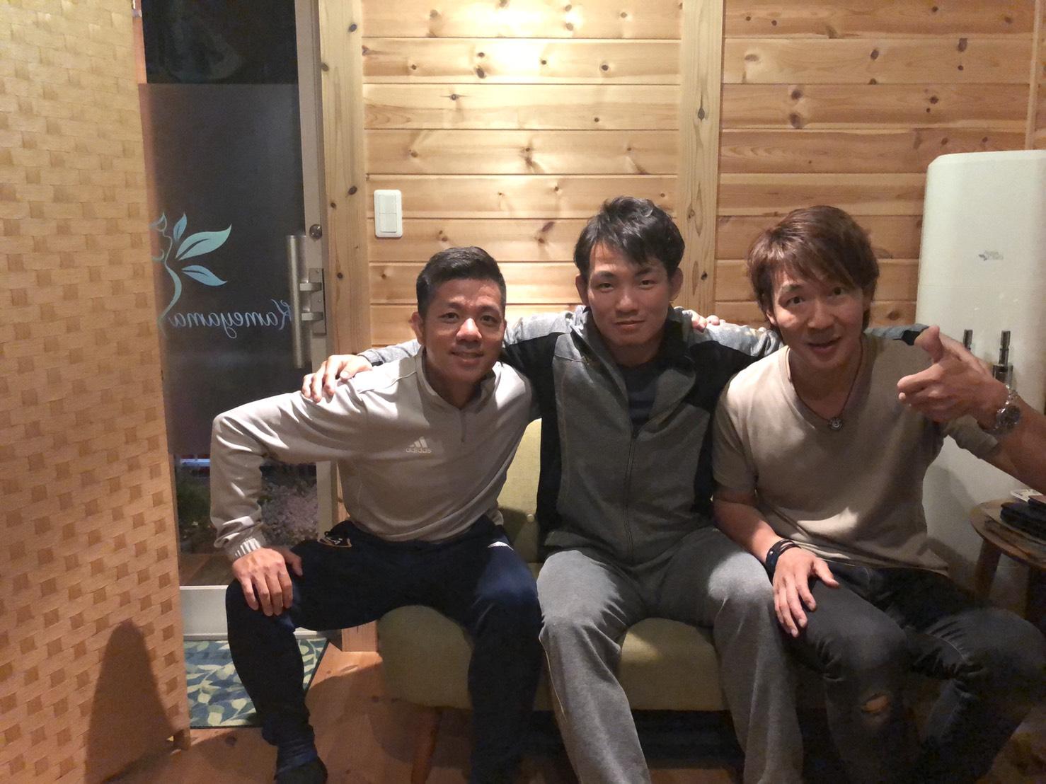柔道家の土井健史選手とお会いし、メンタルの分析を行いました。