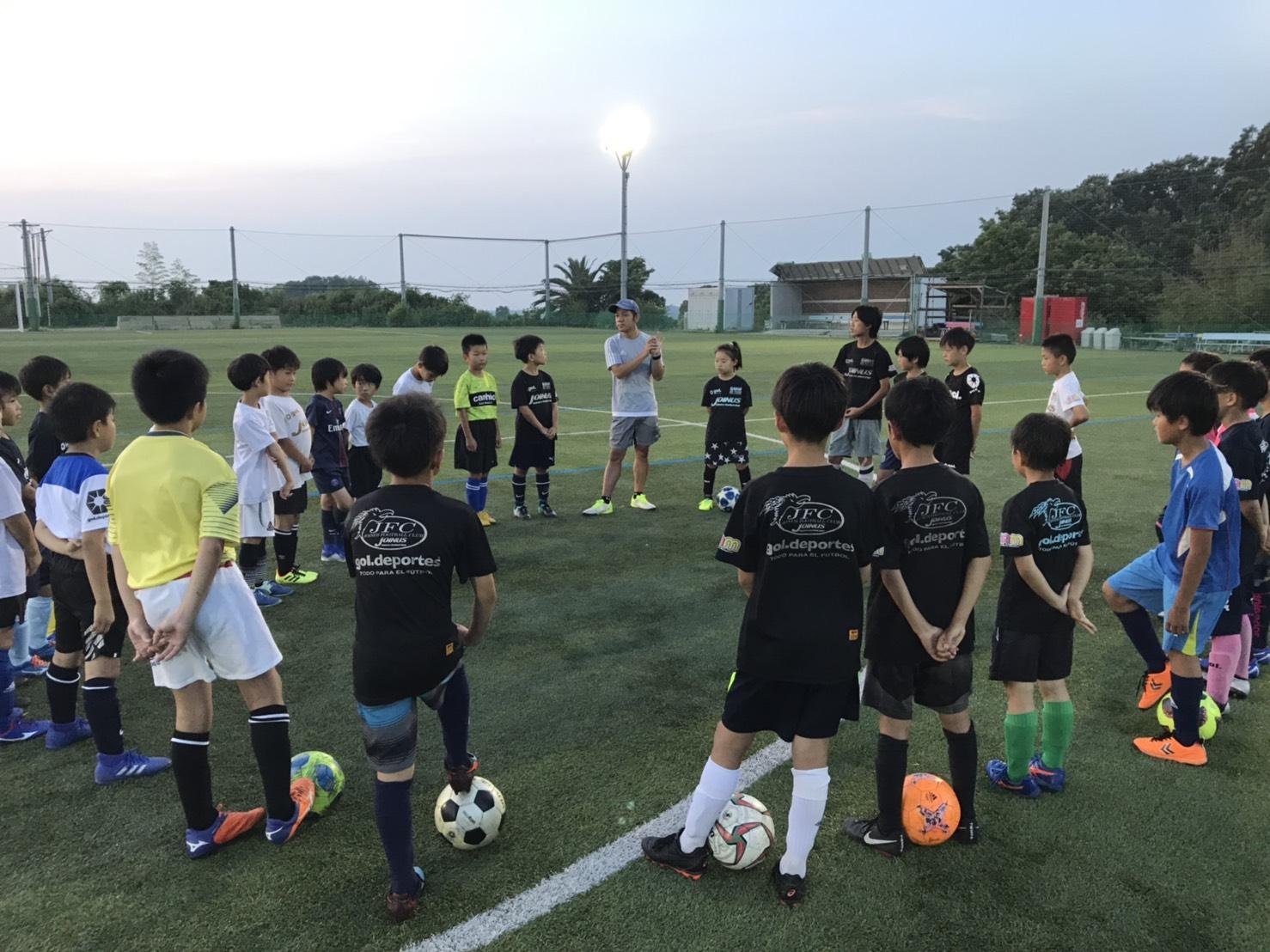 メンタルトレーニング in ジョイナスFC!