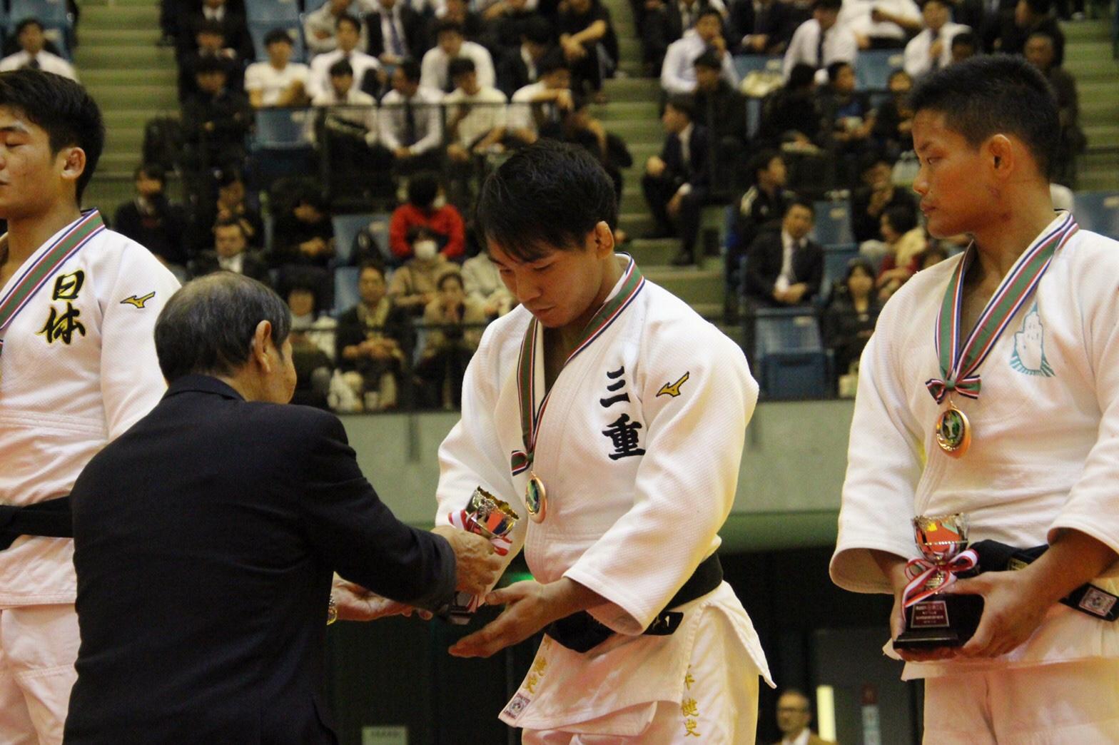 柔道国内最高峰大会、講道館杯で土井健史が3位!